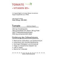 Tomate + Vitamin B9
