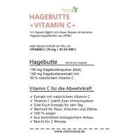 Hagebutte + Vitamin C