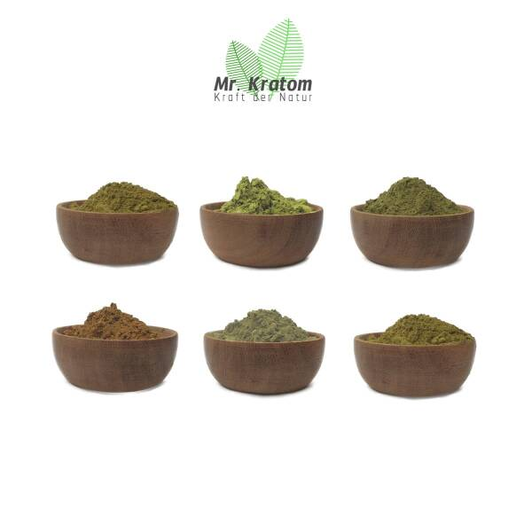 Kratom Probierset Colorful 100