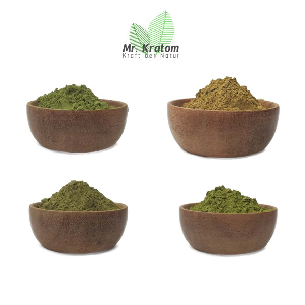 Kratom Probierset Green-Red 100